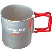 チタンマグカップ300FH RED