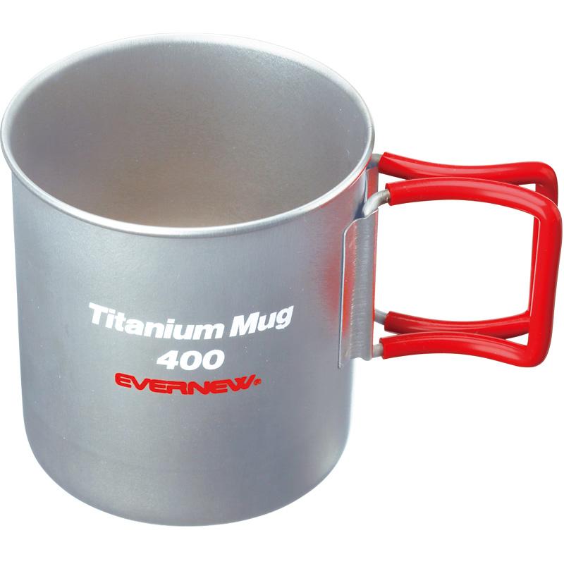 チタンマグカップ400FH RED